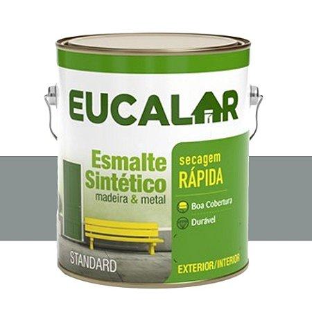 Tinta Esmalte Sintético Eucalar Cinza Médio 3,6 L Eucatex