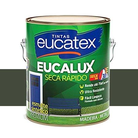 Tinta Eucalux Esmalte Premium Cinza Escuro 900 Ml Eucatex