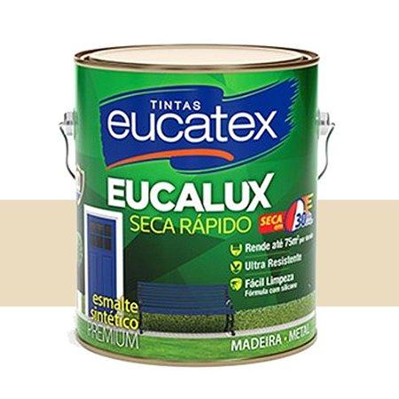 Tinta Eucalux Esmalte Premium Areia 900 Ml Eucatex