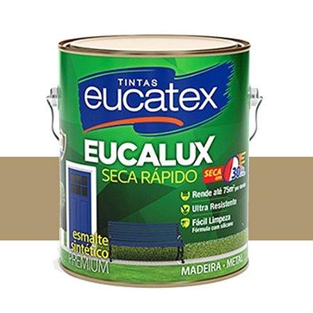 Tinta Eucalux Esmalte Premium Camurça 900 Ml Eucatex