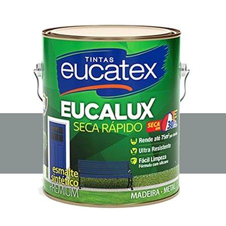 Tinta Eucalux Esmalte Premium Vermelho 900 Ml Eucatex