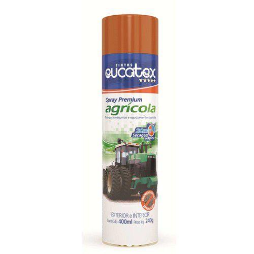 Tinta Spray Eucatex 400ml - Agricola Preto Bs