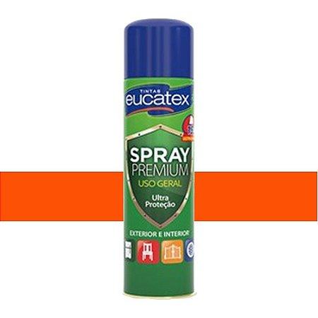 Tinta Spray Luminosa Cor Laranja 400ml Eucatex