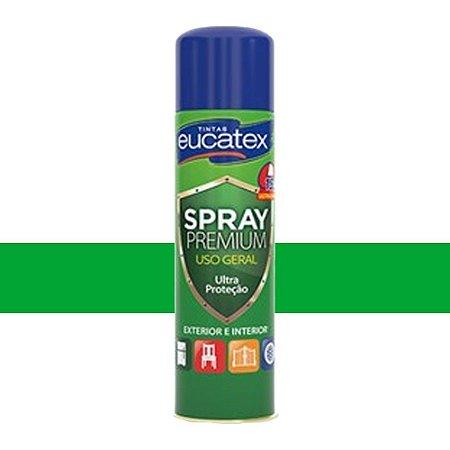 Tinta Spray Luminosa Cor Verde 400ml Eucatex