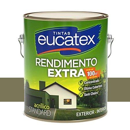 Tinta Acrílico Rendimento Extra Concreto 3,6 Lts Eucatex