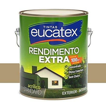 Tinta Acrílico Rendimento Extra Camurça 18 Lts Eucatex