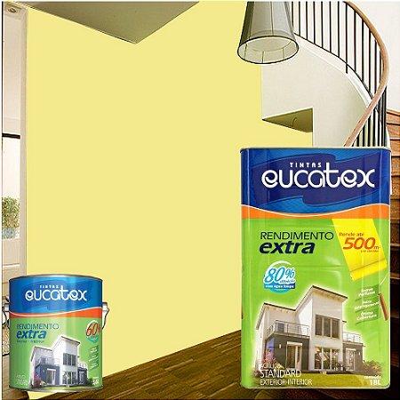 Tinta Acrílica Exterior E Interior Rendimento Extra 18 L Amarelo Canario