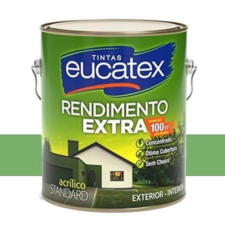 Tinta Acrílica Rendimento Extra Verde Piscina 18 Lts Eucatex