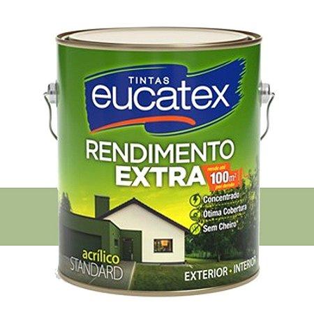 Tinta Acrílico Rendimento Extra Verde Kiwi 18 Lts Eucatex