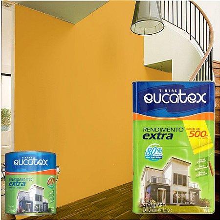 Tinta Acrílico Rendimento Extra Cenoura 18l Eucatex