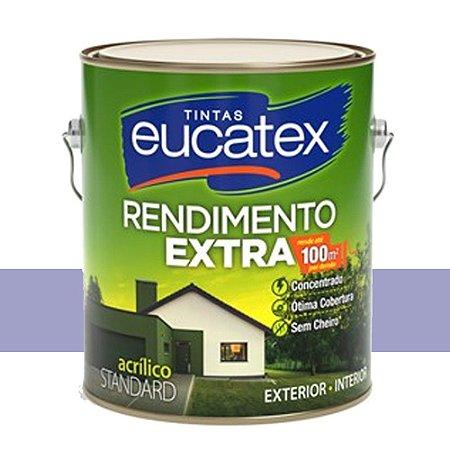 Tinta Acrílico Rendimento Extra Violeta 18l Eucatex