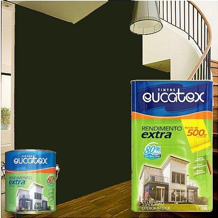 Tinta Acrílico Rendimento Extra Preto 18l Eucatex