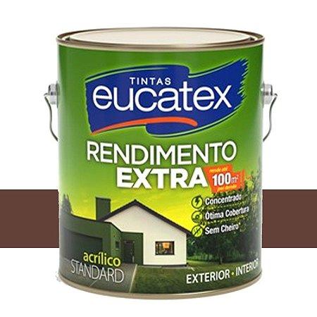 Tinta Acrílico Rendimento Extra Chocolate 18 Lts Eucatex