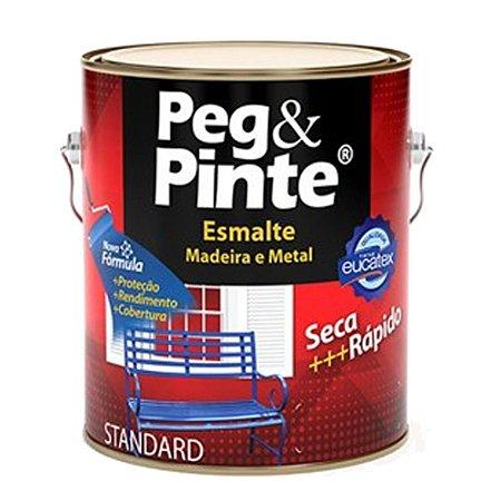 Tinta Esmalte Sint Peg & Pinte Branco 3,6 L Eucatex
