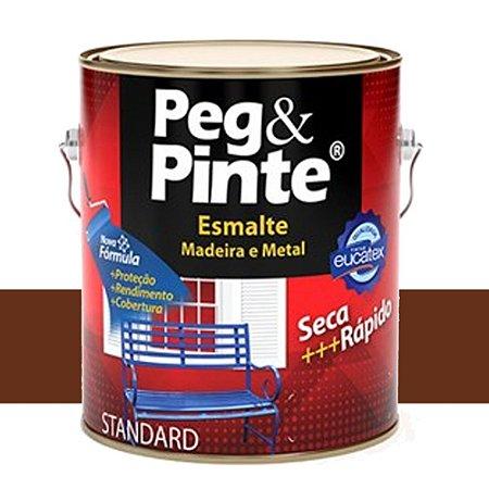 Tinta Esmalte Peg & Pinte Tabaco 3,6 Lts Eucatex