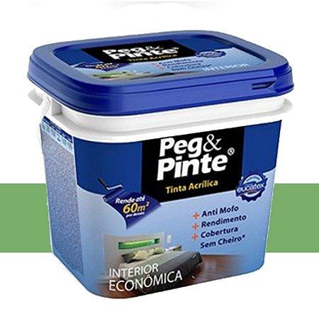 Tinta Acrílica Eucatex Peg&pinte 18 Litros Verde Piscina