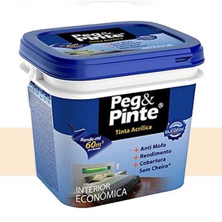 Tinta Acrílica Eucatex Peg&pinte 3,6 Litros Pérola