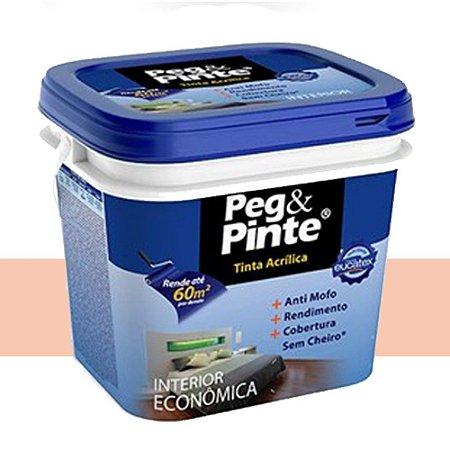 Tinta Acrílica Peg Pinte Eucatex 3,6 Litros Pêssego