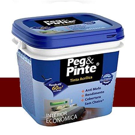 Tinta Acrílica Eucatex Peg&pinte 3,6 Litros Rubi