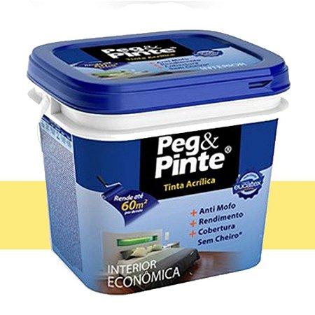 Tinta Acrílica Eucatex Peg & Pinte 18 Litros Caju