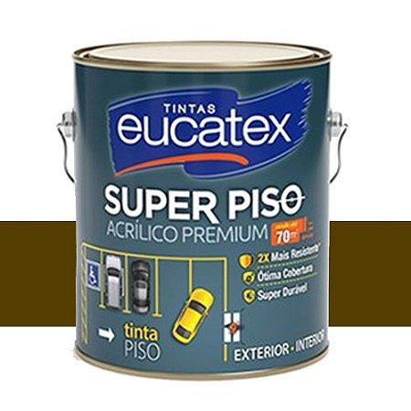 Tinta Super Piso Acrílico Premium Eucatex 3,6 Lts Marrom