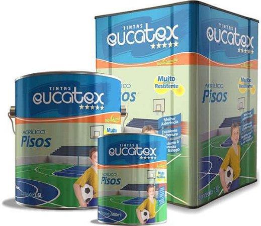 Tinta para Piso Interior e Exterior Eucatex 18 L Amarelo Demarcação