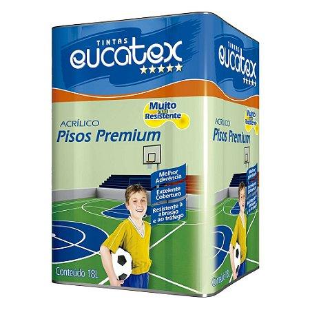 Tinta Piso Eucatex Fosca Premium Verde 18lts.