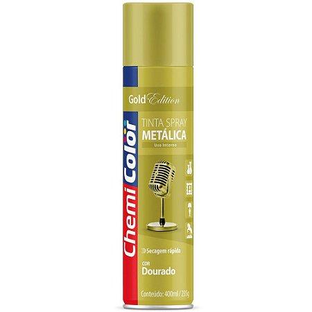 TINTA SPRAY CHEMICOLOR 400 ML U.G. - DOURADO 0680094