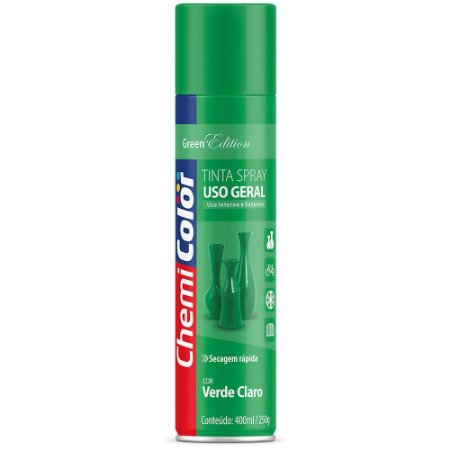 TINTA SPRAY CHEMICOLOR 400 ML U.G. - VERDE CLARO 0680133