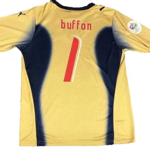 Camisa Itália Buffon Retrô 2006 - Masculina