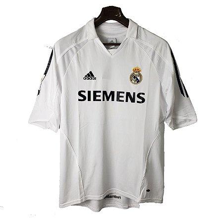 Camisa Real Madrid Retrô 2005/06 - Masculina