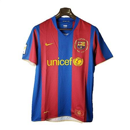 Camisa Barcelona Retro 2007 Masculina Futmais Store Produtos Esportivos Importados