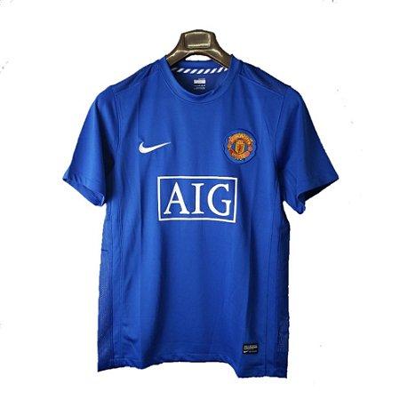 Camisa Manchester United Retrô 2007/08 - Masculina