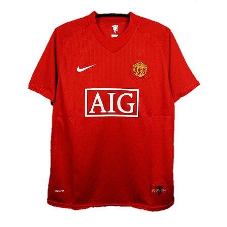Camisa Manchester United Retrô 2007 - Masculina