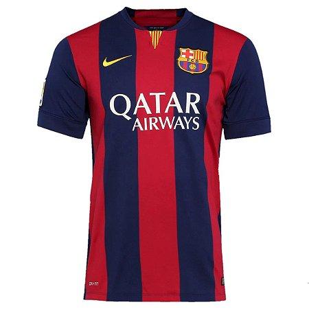 Camisa Barcelona Retrô 2014/15 - Masculina