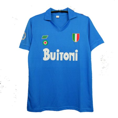 Camisa Napoli Retrô 1987/88 - Masculina