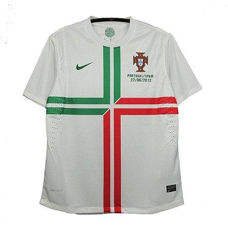 Camisa Portugal Retrô Semifinal Eurocopa 2012 - Masculina