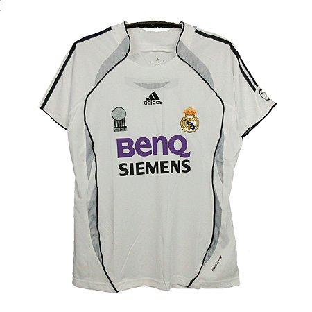 Camisa Real Madrid Retrô 2006/07 - Masculina