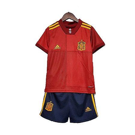 Conjunto Infantil Espanha I 2020 – Masculino