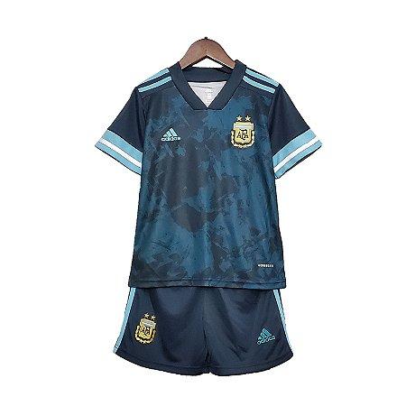 Conjunto Infantil Argentina II 2020 – Masculino