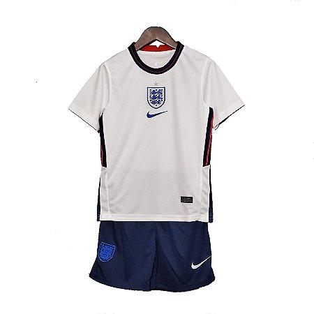 Conjunto Infantil Inglaterra I 2020 – Masculino
