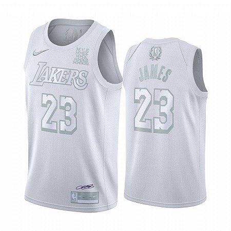 Camisa Lakers 23 White Edição MVP - Masculina