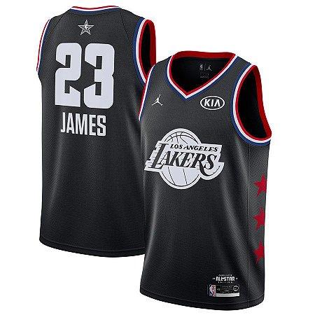 Camisa Lakers 23 Black All-Star - Masculina