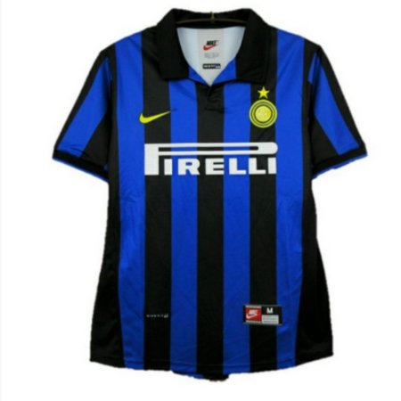 [PRONTA ENTREGA] Camisa Inter de Milão Retrô 1998/99 - Masculina