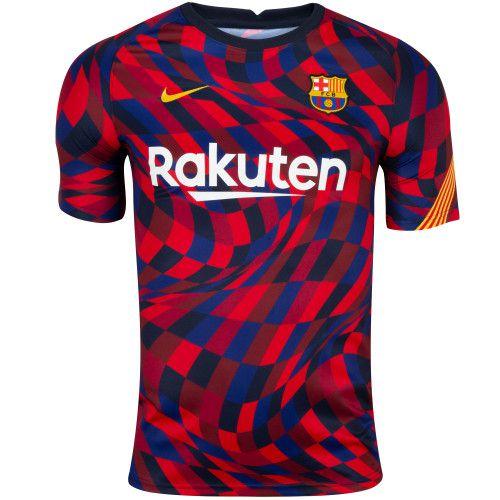 Camisa Barcelona Pré-Jogo 2020/21 – Masculina
