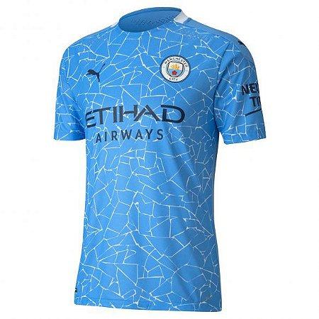 Camisa Manchester City I 2020/21 - Masculina