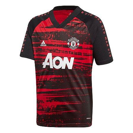 Camisa Manchester United Pré-Jogo 2020/21 – Masculina
