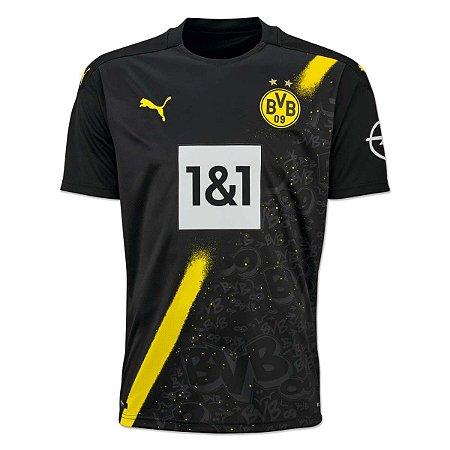 Camisa Borussia Dortmund II 2020/21 – Masculina