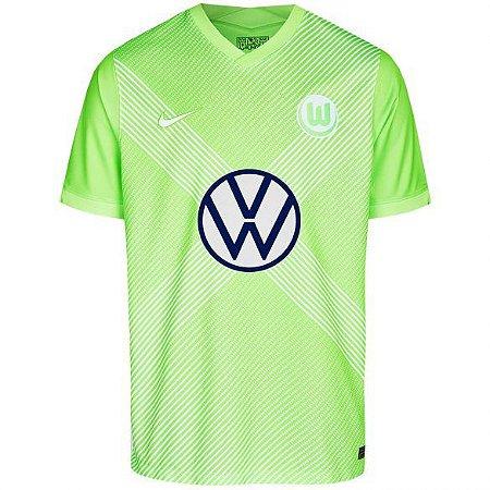 Camisa Wolfsburg I 2020/21 – Masculina