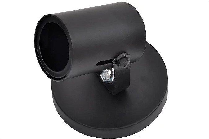 Spot Tubo Preto para 1 Dicróica GU10 ARS Iluminação